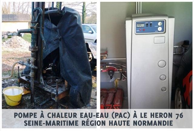 pompe a chaleur heron 76 seine maritime