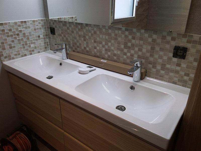 Cr ation de salle de bain chauffage pompe chaleur - Logiciel creation salle de bain ...