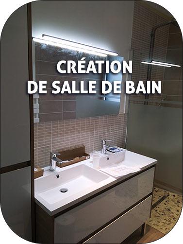 création de salle de bain normandie